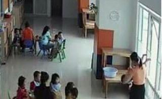 Đình chỉ trường mầm non có hiệu trưởng dọa ném học sinh qua cửa sổ để ép ăn