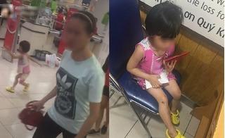 Bé gái bị mẹ mắng chửi, cầm túi xách đánh vào mặt tại siêu thị Lotte vì làm mất gói kẹo