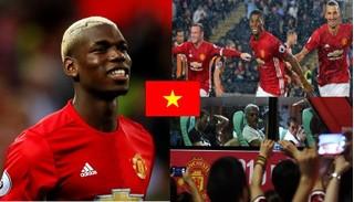 Lứa Công Phượng có cơ hội so tài với Man United trong hè 2017