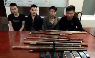 Hỗn chiến kinh hoàng ở Hà Tĩnh: Hàng chục côn đồ vác đao, kiếm thanh toán nhau