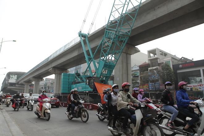 đường sắt trên cao Cát Linh - Hà Đông 2