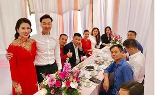 Hình ảnh mới nhất trong lễ hỏi với vợ 2 của MC Thành Trung