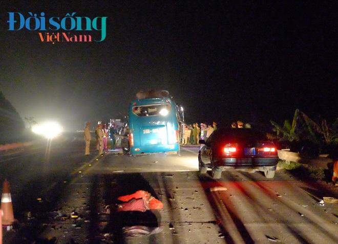 vụ nổ xe khách ở Bắc Ninh 1