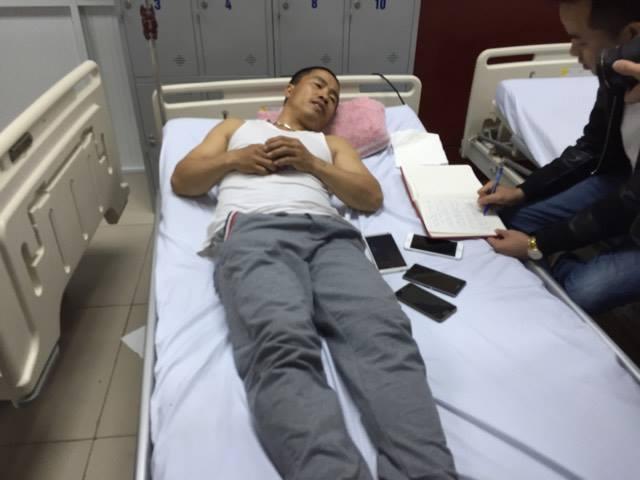 vụ nổ xe khách ở Bắc Ninh 13