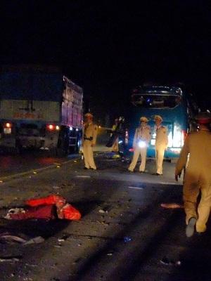 Vụ xe khách giường nằm phát nổ: Xác định danh tính 12 nạn nhân