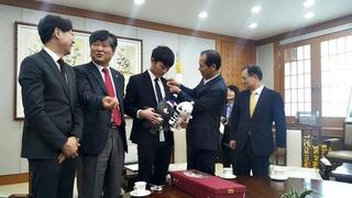Xuân Trường chính thức trở thành đại sứ của Gangwon