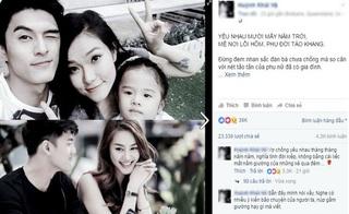 """Dân mạng rần rần chia sẻ status """"không thể sâu sắc hơn"""" về chuyện ly hôn của Lâm Vinh Hải"""