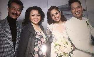 Danh ca Hương Lan bỏ về giữa đám cưới Đình Bảo vì cho rằng Việt Hương giễu cợt thô