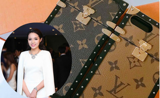 Hoa hậu Kỳ Duyên mạnh tay chi 40 triệu đồng mua... ốp điện thoại