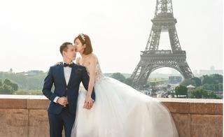Hot girl Tú Linh MU đẹp rạng ngời trong bộ ảnh cưới xuyên quốc gia