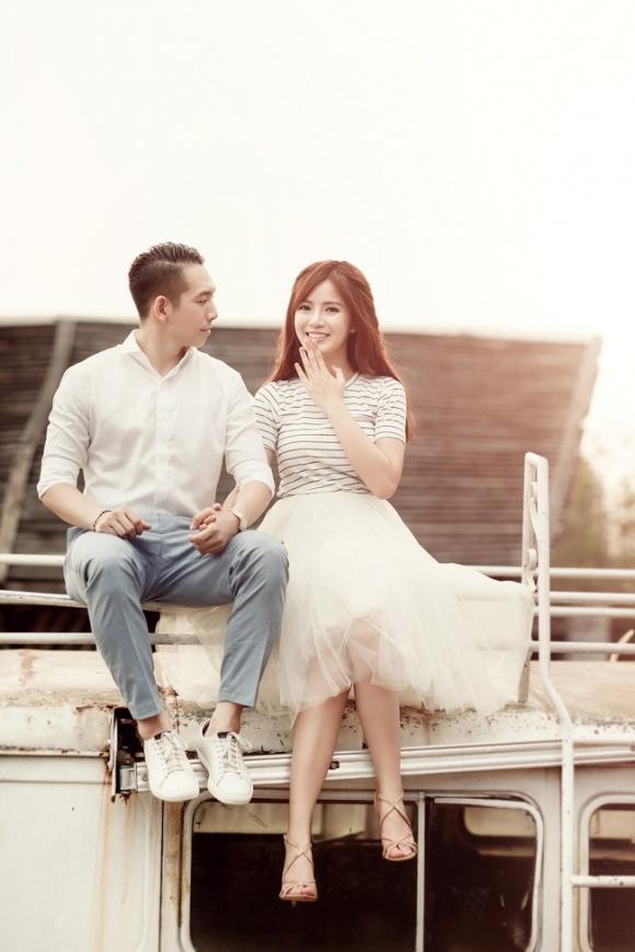 Hot girl Tú Linh MU lấy chồng 3