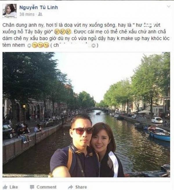 Hot girl Tú Linh MU lấy chồng 5