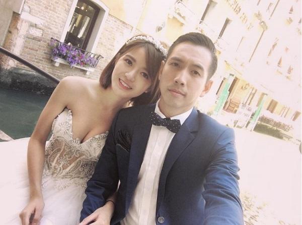 Hot girl Tú Linh MU lấy chồng 6