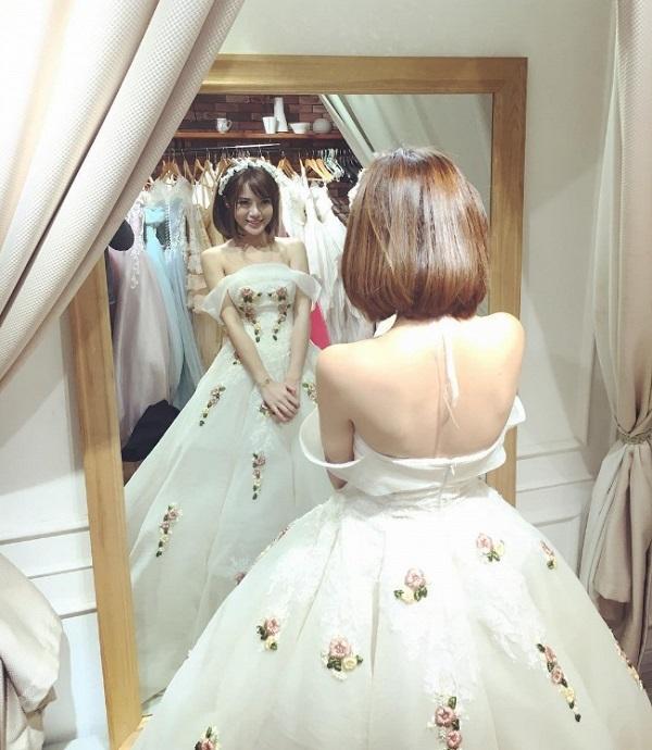 Hot girl Tú Linh MU lấy chồng 7