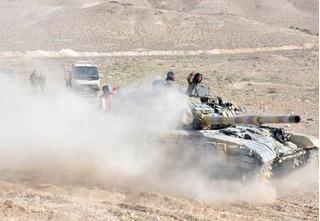Quân đội Syria giải phóng thành cổ Palmyra, IS chạy trối chết