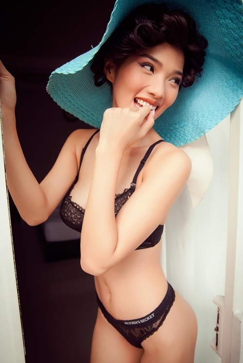 Người mẫu Kim Cương - vợ Ưng Hoàng Phúc 12