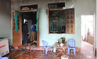 Cháy nhà cấp 4 ở Thanh Hóa, 2 bố con bị lửa thiêu thương tâm