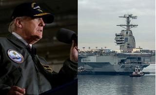 Hứa trang bị đủ 12 tàu sân bay, ông Trump muốn hải quân Mỹ thần thánh đến đâu?