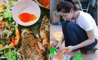 Chị em xôn xao với mâm cơm 25 ngàn đồng vẫn đủ cá, rau, đậu của cô vợ trẻ