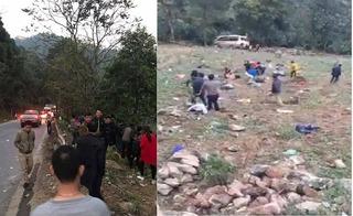 Lào Cai: Lật xe khách khi đổ đèo, đang dốc tổng lực cứu hộ nạn nhân