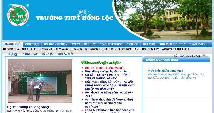 Trường THPT Đồng Lộc 1