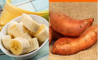 Triệu chứng viêm khớp giảm hẳn nhờ cách ăn khoai lang và chuối