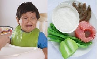 Mách mẹ thực đơn ăn dặm dành cho bé còi xương, biếng ăn, tiêu hóa kém