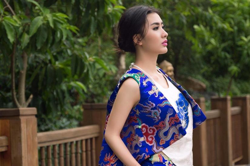 diễn viên Nguyệt Ánh lên xe hoa 20