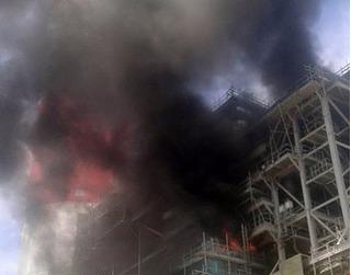 Bình Thuận: Nổ lớn tại Nhà máy Nhiệt điện, nhiều công nhân bị bỏng