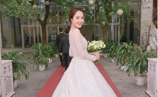 Những hình ảnh mới nhất trong đám cưới á hậu Hoàng Anh