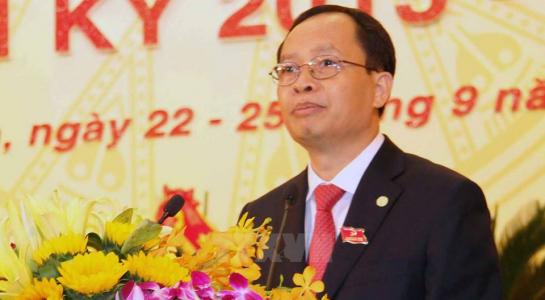 bí thư tỉnh ủy Thanh Hóa