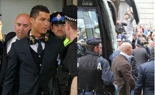 Hàng nghìn holigan tập trung khủng bố CR7 và các cầu thủ Real Madrid