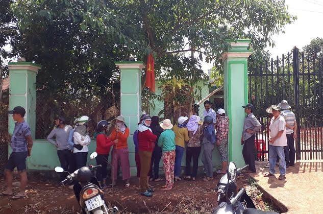 Căn nhà nơi xảy ra nghi án chồng giết vợ rồi tự sát ở Gia Lai