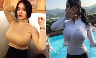 Lý do nào khiến hot girl có vòng 1 tự nhiên khủng nhất châu Á không bao giờ mặc áo sexy