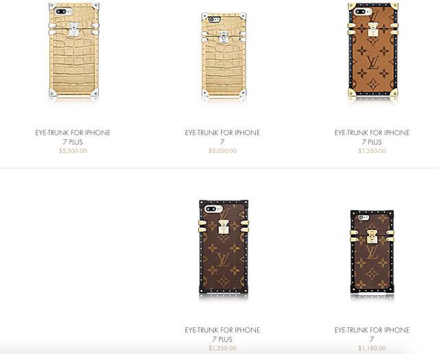 ốp điện thoại iPhone 7 của Louis Vuitton 1