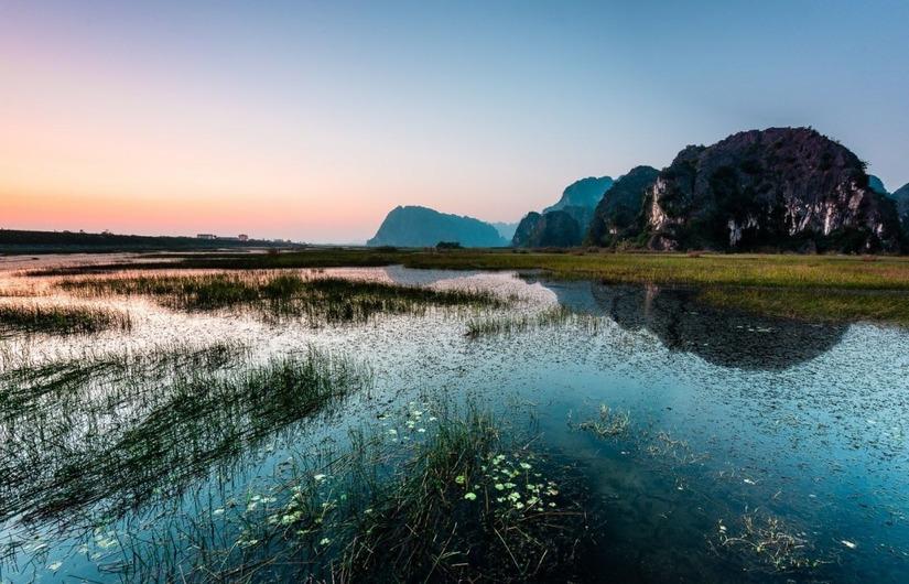 Du lịch đầm Vân Long Ninh Bình 1