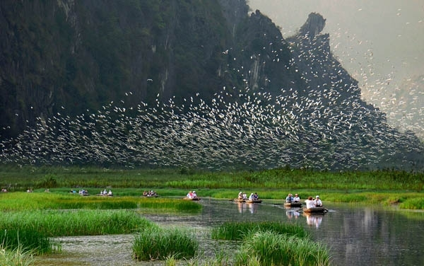 Du lịch đầm Vân Long Ninh Bình 2
