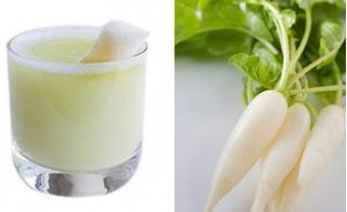 Củ cải trắng được ví như nhân sâm, trị lao phổi và tiểu đường cực hiệu quả