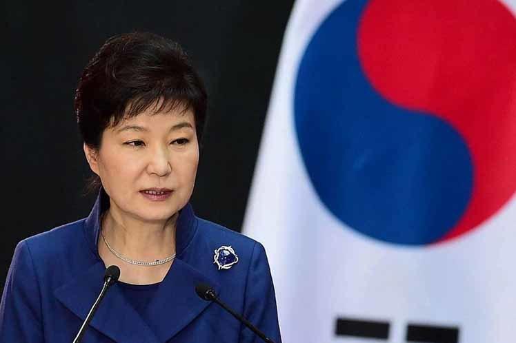 Tổng thống Hàn Quốc Park Geun Hye bị phế truất 1