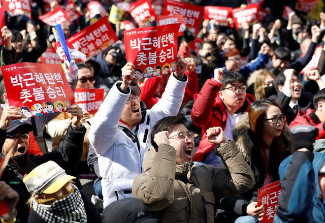 Tổng thống Hàn Quốc Park Geun Hye bị phế truất 4