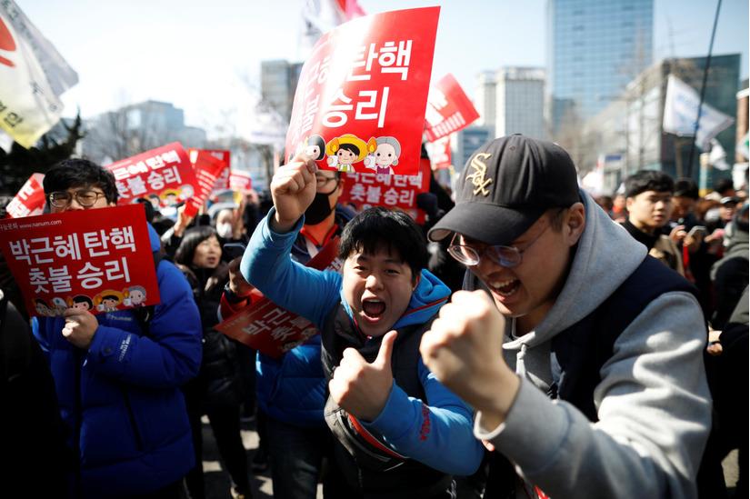 Tổng thống Hàn Quốc Park Geun Hye bị phế truất 5
