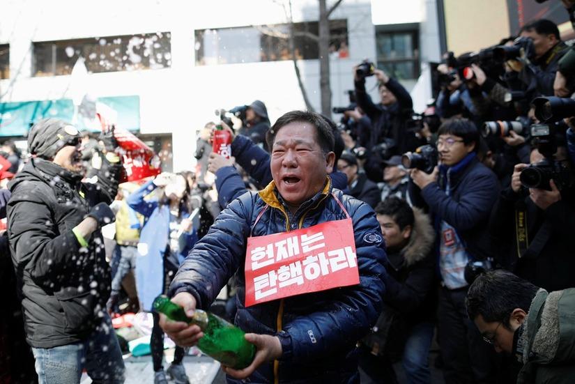 Tổng thống Hàn Quốc Park Geun Hye bị phế truất 7