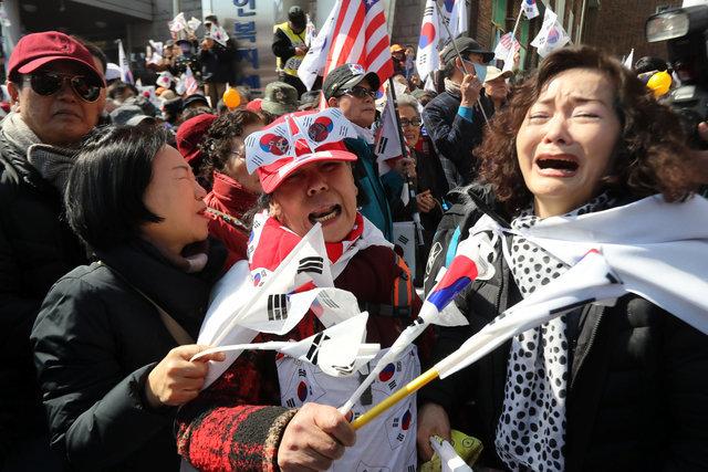 Tổng thống Hàn Quốc Park Geun Hye bị phế truất 10