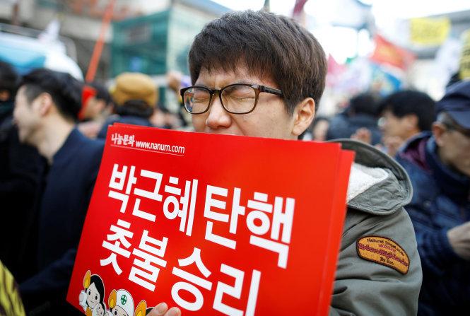 Tổng thống Hàn Quốc Park Geun Hye bị phế truất 12