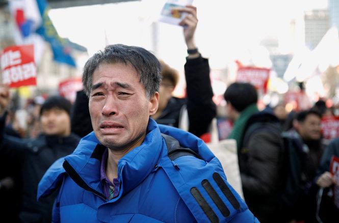 Tổng thống Hàn Quốc Park Geun Hye bị phế truất 13