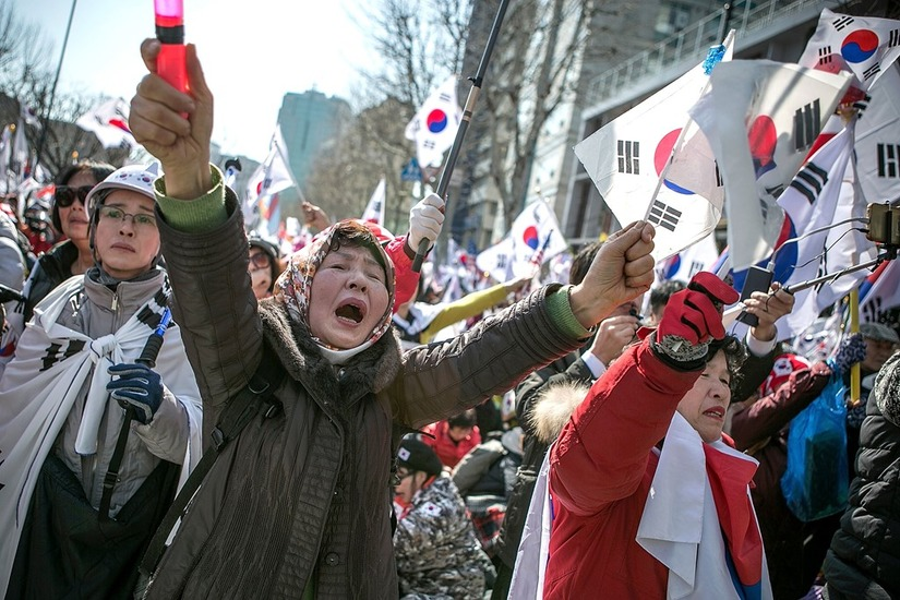 Tổng thống Hàn Quốc Park Geun Hye bị phế truất 16