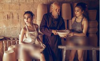 Nghẹn ngào với lời tâm sự của diễn viên cao tuổi trong bộ ảnh lò gốm hở hang
