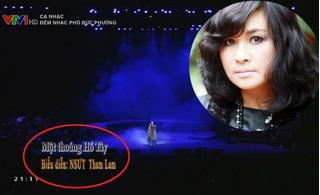 VTV tạo scandal để đời khiến Diva Thanh Lam chẳng biết giấu mặt vào đâu