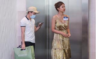 Bắt gặp Phan Mạnh Quỳnh đưa bạn gái đi thi The Face