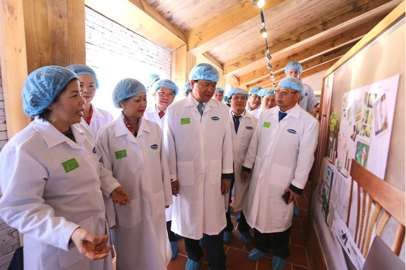 Vinamilk khánh thành trang trại bò sữa Organic5